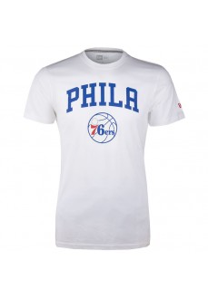 New Era Philadelphia 76ERS Men's T-shirt White 11546141 | Men's T-Shirts | scorer.es