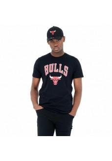 Camiseta Hombre New Era Chicago Bulls Negro 11530755 | scorer.es