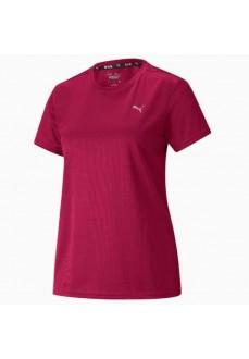 Camiseta Mujer Puma Run Favorite Granate 520181-33 | scorer.es