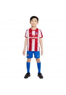 Nike Atletico de Madrid Kids' Home Kit 21/22 Red/White CV8262-612 | Football clothing | scorer.es