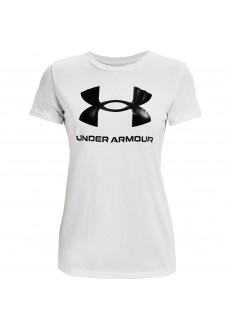 Under Armour Live Sportstyle Women's T-shirt White 1356305-102 | Women's T-Shirts | scorer.es