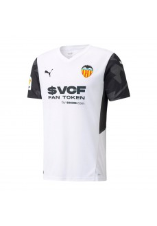 Camiseta Hombre Puma Valencia C.F 2021/2022 Blanco 759336-01 | scorer.es