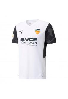Puma Valencia C.F Men's Home Shirt 2021/2022 White 759336-01 | Football clothing | scorer.es