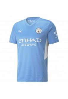 Camiseta Hombre Puma Manchester City 2021/2022 Azul 759202-01 | scorer.es