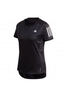 Adidas Own The Run Women's T-shirt Black | Running T-Shirts | scorer.es