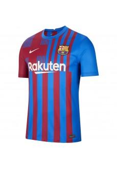 Camiseta Nike 1ª FC Barcelona 2021/2022 Azul/Granate CV7891-428 | scorer.es