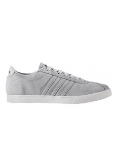 Zapatillas Adidas Courtset Gris Terciopelo