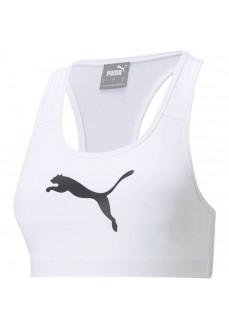 Puma Mid Impact 4 Keeps Women's Top White 520304-52 | Sports bra | scorer.es
