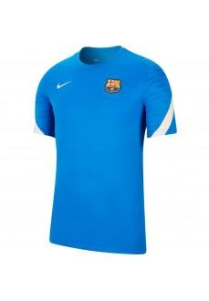 Camiseta Hombre Nike FC Barcelona Azul CW1845-430 | scorer.es