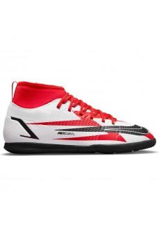 Zapatillas Niño/a Nike Mercurial Suprefly 8 Club CR7 IC Blanco/Rojo DB0930-600 | scorer.es