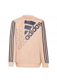 Adidas Logo Kids' Sweatshirt Salmon GS2183 | Kids' Sweatshirts | scorer.es