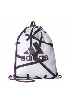 Bolsa de saco Adidas Blanco/Negro | scorer.es