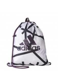 Bolsa de saco Adidas Blanco/Negro