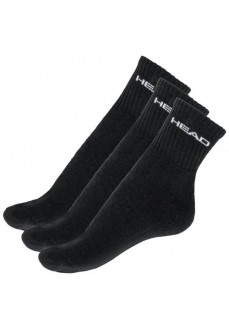 Head Crew 3P Socks Black 771026001-20   Socks   scorer.es