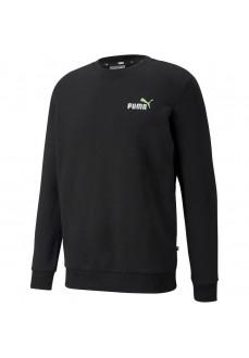 Sudadera Hombre Puma Essentials+ Embroidery Negro 589249-51   scorer.es