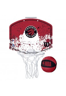 Wilson NBA Toronto Raptors Mini Hoop Red WTBA1302TOR