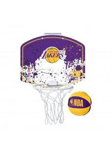 Mini Canasta Wilson NBA LA Lakers Morado WTBA1302LAl