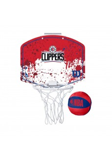 Mini Canasta Wilson NBA Los Angeles Clippers Rojo WTBA1302LAC