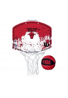 Mini Canasta Wilson NBA Chicago Bulls Rojo WTBA1302CHI