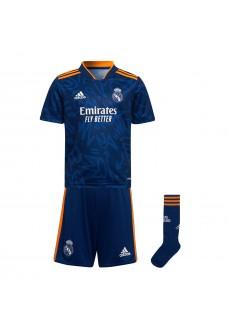 Adidas Real Madrid Kids' Kit 2021/2022 Blue HC5890   Football clothing   scorer.es