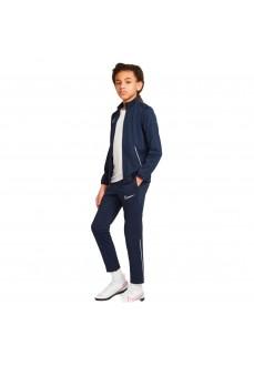 Nike Dri-fit Academy Kid's Tracksuit Navy CW6133-451 | Football clothing | scorer.es