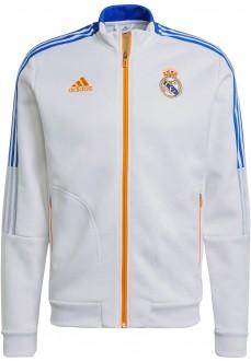 Sudadera Hombre Adidas Real Madrid 2021/2022 Blanco GR4270 | scorer.es