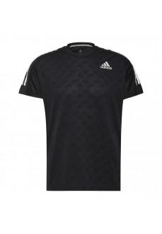Camiseta Hombre Adidas OWN The Run Tee Negro H36450 | scorer.es