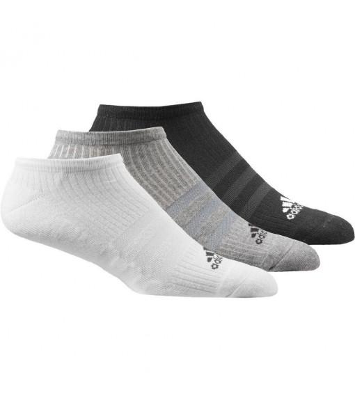 Calcetines Adidas tobilleros Pack 3 Negro/Gris/Blanco   scorer.es