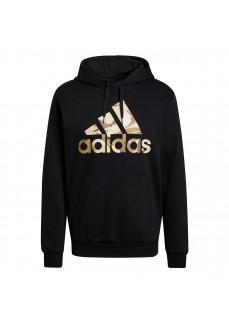 Sudadera Hombre Adidas Essentials Camo Negro GV2126   scorer.es