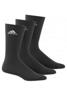 Calcetines Adidas altos Pack 3 Negro | scorer.es
