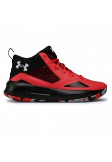 Baskets Under Armour Lockdown 5 Rouge Homme 3023949-601