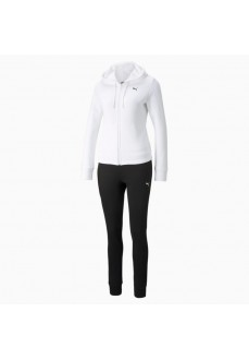 Puma Classic Hooded Woman´s Tracksuit White 589132-02   Women's Tracksuits   scorer.es