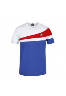 Camiseta Hombre Le Coq Sportif Tri Crew Azul 2120313