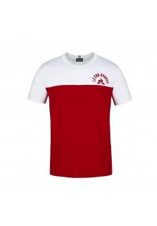Camiseta Hombre Le Coq Sportif Saison 2 Tee Rojo 2120305 | scorer.es