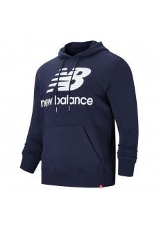 Sudadera Hombre New Balance Essentials Stacked MT03558 ECL | scorer.es