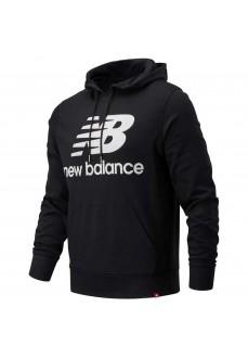 Sudadera Hombre New Balance Essentials Stacked MT03558 BK | scorer.es