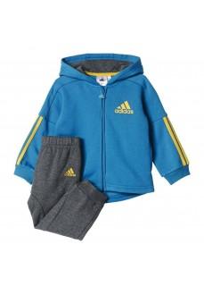 Chándal Adidas Jogger Azul/Gris/Amarillo