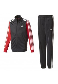 Chándal Adidas Tibero Negro/Rojo/Blanco