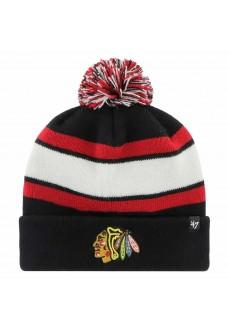Brand47 Chicago Blackhawks Woolen Hat H-WYLND04ACE-BK | Hats | scorer.es