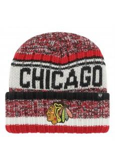 Brand47 Chicago Blackhawks Woolen Hat H-QTOSS04ACE-BK | Hats | scorer.es