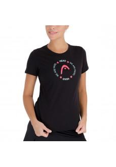 Camiseta Mujer Head Button 814701 BK | scorer.es