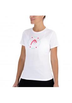 Head Button Women's T-shirt 814701 WH | Paddle tennis clothing | scorer.es
