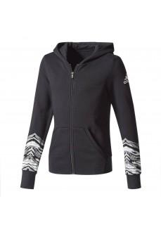 Sudadera Adidas con capucha negra