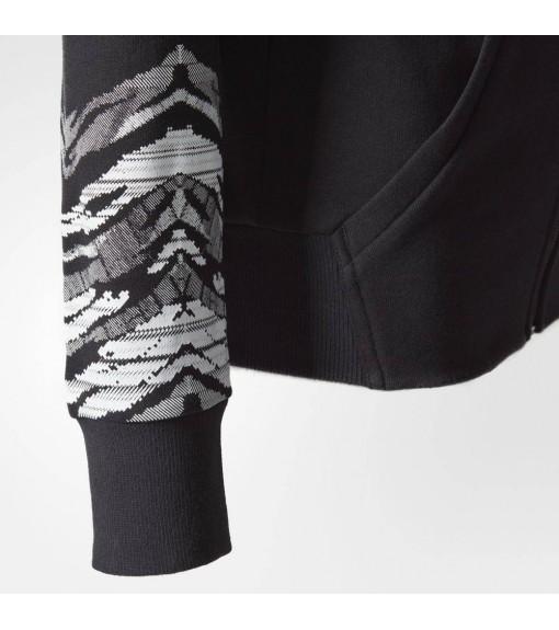 Sudadera Adidas con capucha negra   scorer.es