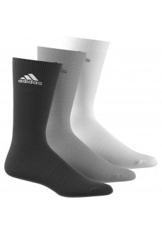 Calcetines Adidas altos Pack 3 Negro/Gris/Blanco