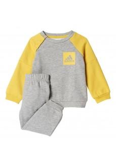 Chándal Adidas para niño Gris/Amarillo