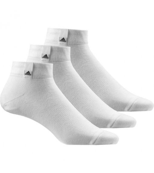 Calcetines bajos Adidas Pack 3 Blanco/Blanco/Negro | scorer.es