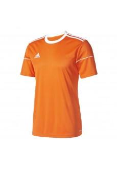 Camiseta Adidas Squad 17 Naranja/Blanco