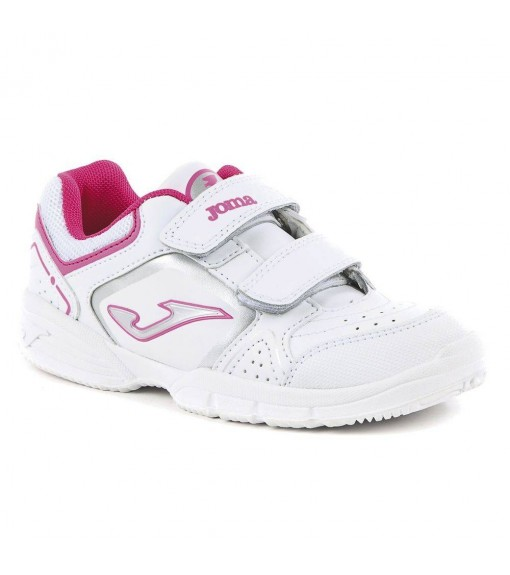 Joma W.School Junior 710 White/Pink Trainers | No laces | scorer.es
