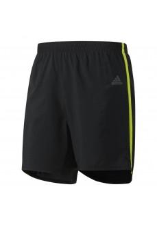 Pantalón corto Adidas Negro/Fluorescente